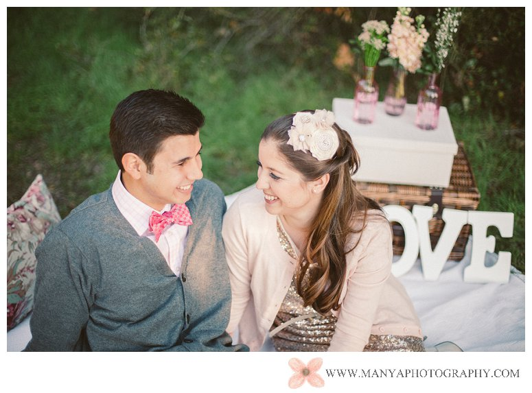 2014-02-01_0284- Valentine's Day Inspired Picnic Styled Engagement Shoot | Orange County Wedding Photographer