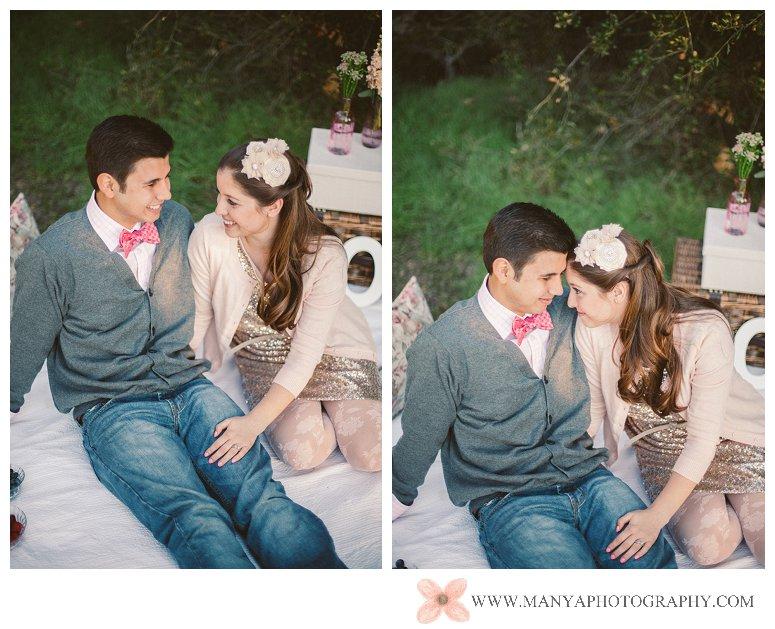 2014-02-01_0285- Valentine's Day Inspired Picnic Styled Engagement Shoot | Orange County Wedding Photographer