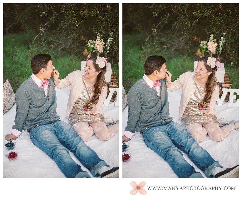 2014-02-01_0293- Valentine's Day Inspired Picnic Styled Engagement Shoot | Orange County Wedding Photographer
