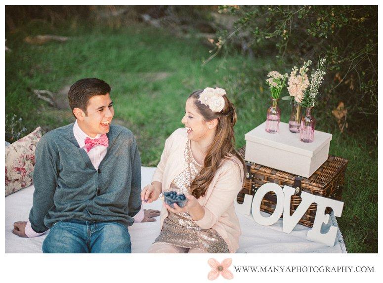 2014-02-01_0294- Valentine's Day Inspired Picnic Styled Engagement Shoot | Orange County Wedding Photographer
