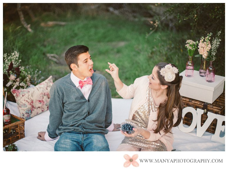 2014-02-01_0296- Valentine's Day Inspired Picnic Styled Engagement Shoot | Orange County Wedding Photographer
