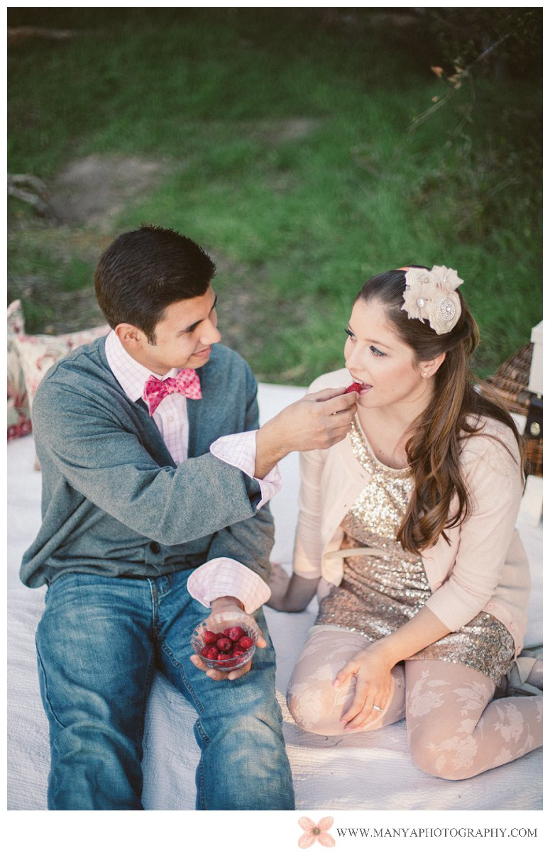 2014-02-01_0299- Valentine's Day Inspired Picnic Styled Engagement Shoot | Orange County Wedding Photographer