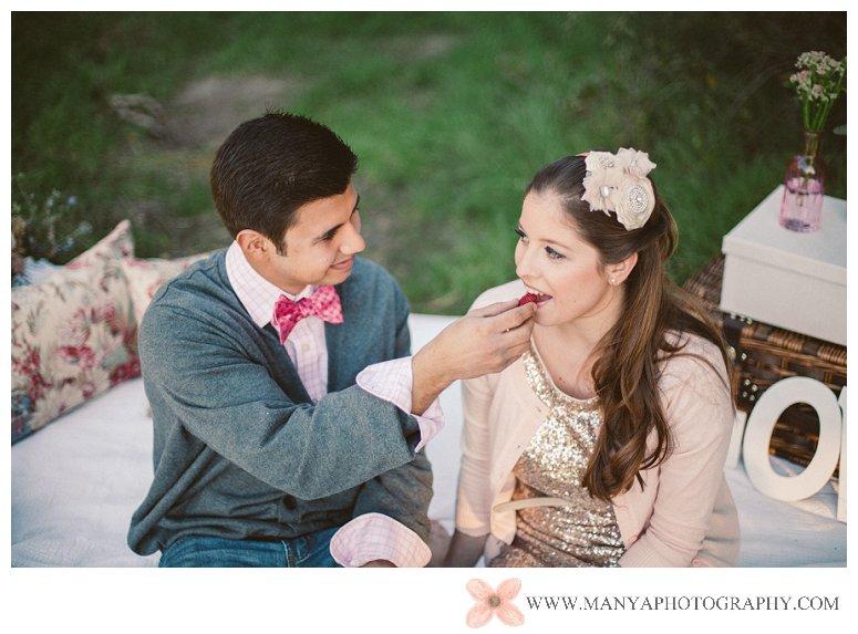 2014-02-01_0301- Valentine's Day Inspired Picnic Styled Engagement Shoot | Orange County Wedding Photographer