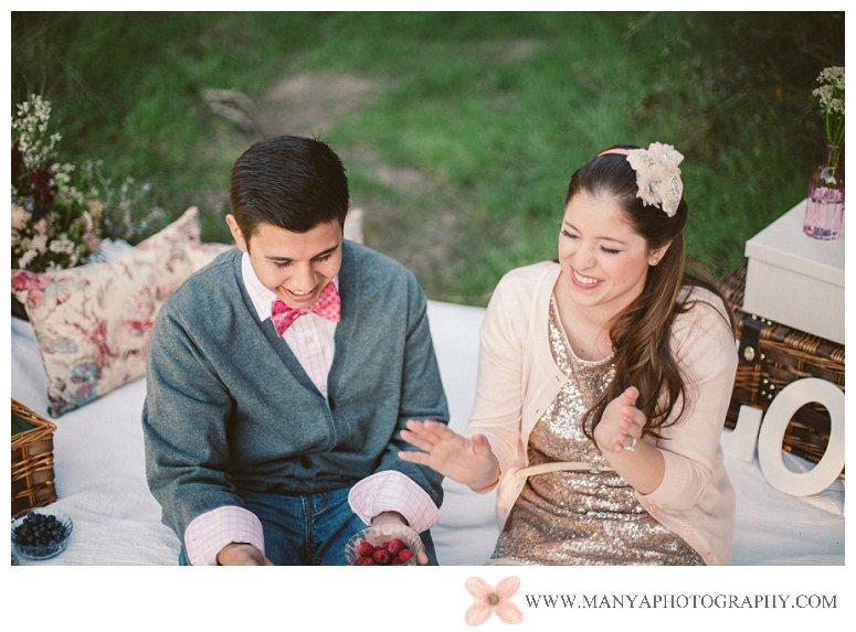 2014-02-01_0302- Valentine's Day Inspired Picnic Styled Engagement Shoot | Orange County Wedding Photographer