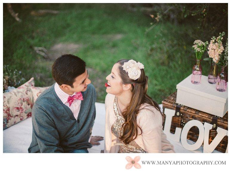 2014-02-01_0304- Valentine's Day Inspired Picnic Styled Engagement Shoot | Orange County Wedding Photographer