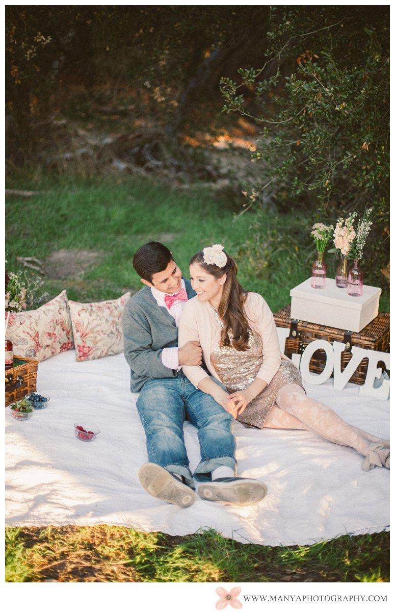 2014-02-01_0308- Valentine's Day Inspired Picnic Styled Engagement Shoot | Orange County Wedding Photographer