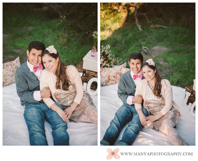 2014-02-01_0315- Valentine's Day Inspired Picnic Styled Engagement Shoot | Orange County Wedding Photographer