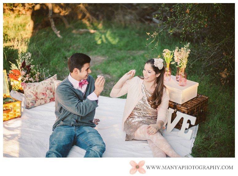 2014-02-01_0323- Valentine's Day Inspired Picnic Styled Engagement Shoot | Orange County Wedding Photographer