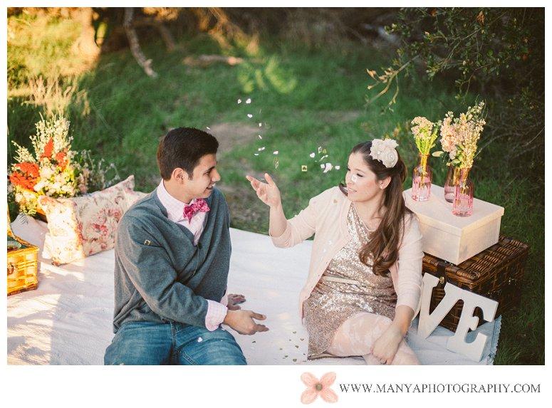 2014-02-01_0324- Valentine's Day Inspired Picnic Styled Engagement Shoot | Orange County Wedding Photographer