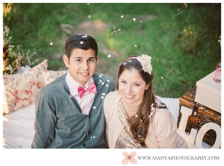 2014-02-01_0325- Valentine's Day Inspired Picnic Styled Engagement Shoot | Orange County Wedding Photographer