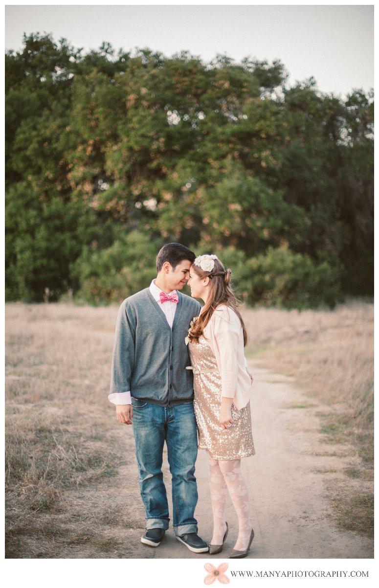 2014-02-01_0332- Valentine's Day Inspired Picnic Styled Engagement Shoot | Orange County Wedding Photographer