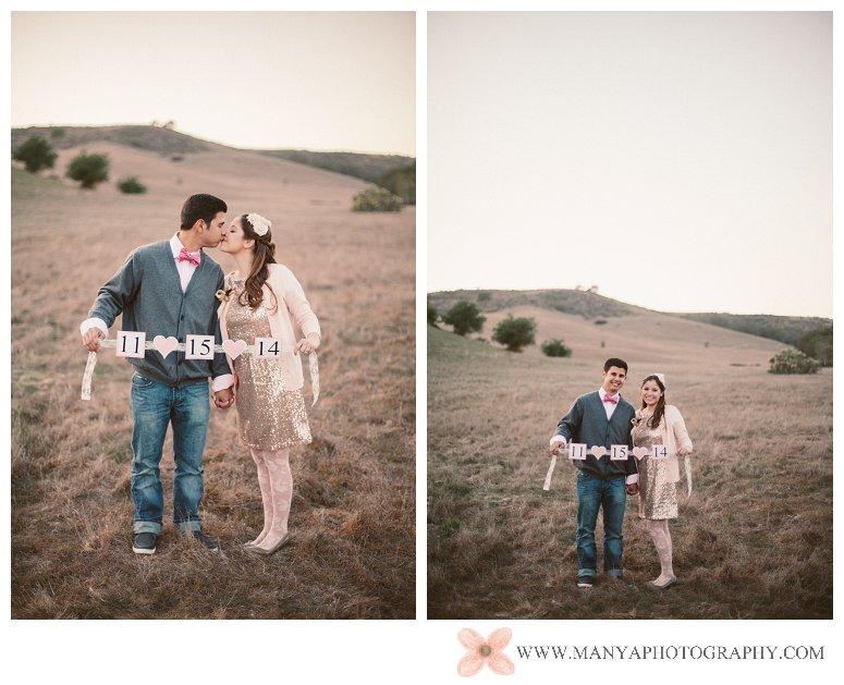 2014-02-01_0340- Valentine's Day Inspired Picnic Styled Engagement Shoot | Orange County Wedding Photographer