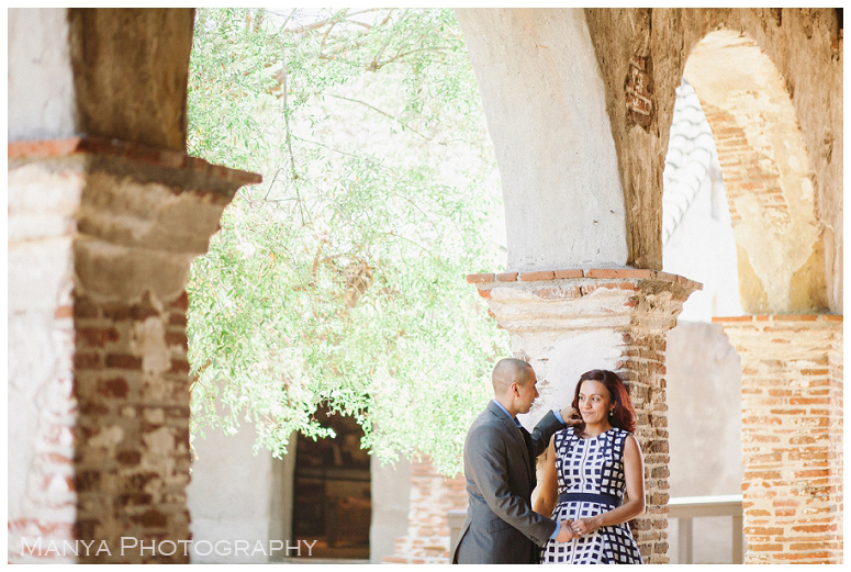 2014-06-13_0004- Sergio and Patti   Engagement   Mission San Juan Capistrano Wedding Photographer   Manya Photography