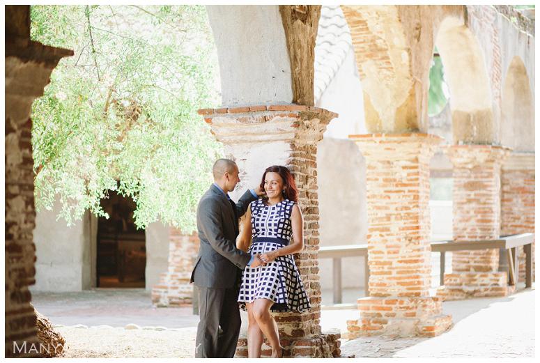 2014-06-13_0005- Sergio and Patti   Engagement   Mission San Juan Capistrano Wedding Photographer   Manya Photography