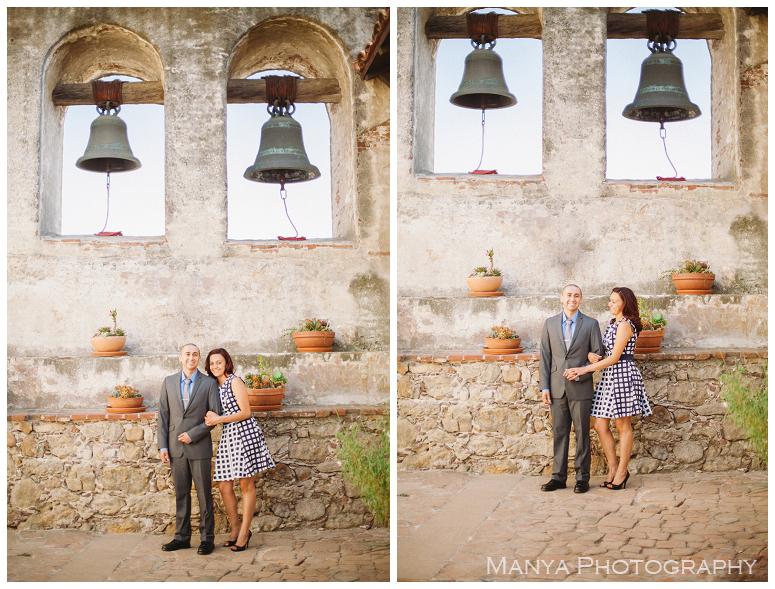 2014-06-13_0011- Sergio and Patti | Engagement | Mission San Juan Capistrano Wedding Photographer | Manya Photography