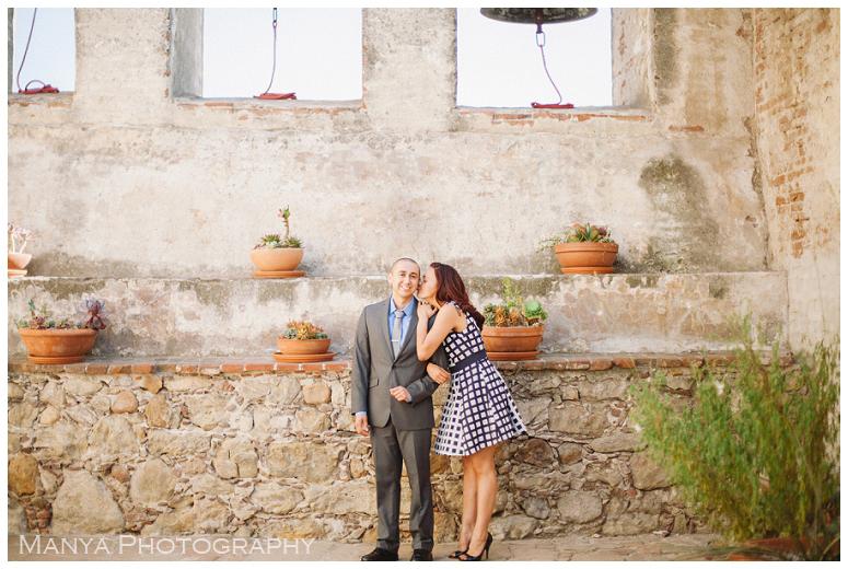 2014-06-13_0013- Sergio and Patti | Engagement | Mission San Juan Capistrano Wedding Photographer | Manya Photography