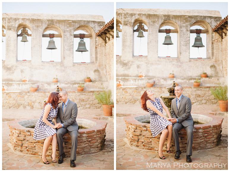 2014-06-13_0015- Sergio and Patti | Engagement | Mission San Juan Capistrano Wedding Photographer | Manya Photography