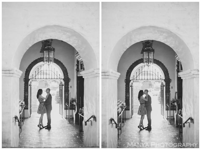 2014-06-13_0016- Sergio and Patti | Engagement | Mission San Juan Capistrano Wedding Photographer | Manya Photography