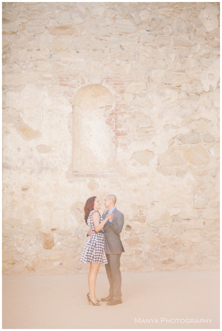 2014-06-13_0018- Sergio and Patti | Engagement | Mission San Juan Capistrano Wedding Photographer | Manya Photography
