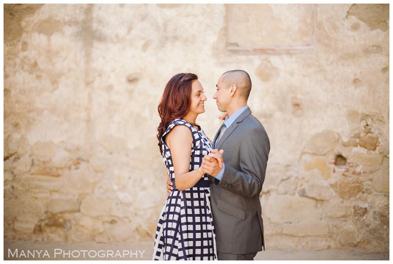 2014-06-13_0019- Sergio and Patti   Engagement   Mission San Juan Capistrano Wedding Photographer   Manya Photography