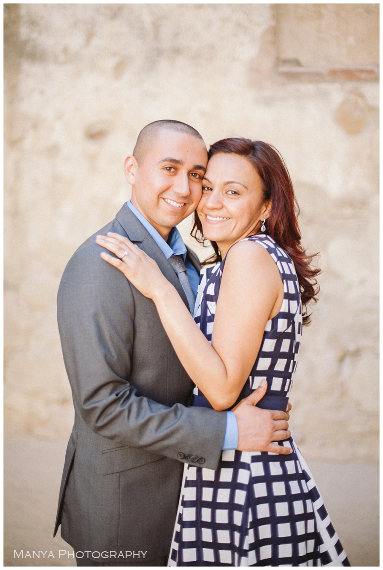 2014-06-13_0023- Sergio and Patti | Engagement | Mission San Juan Capistrano Wedding Photographer | Manya Photography