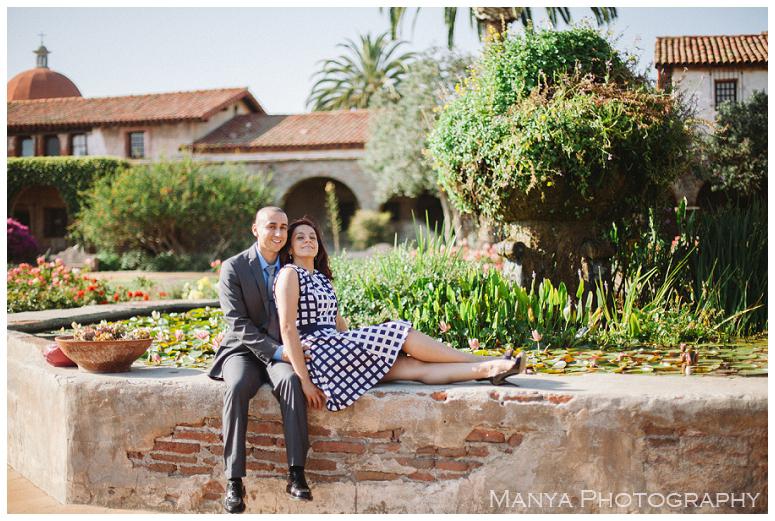 2014-06-13_0028- Sergio and Patti   Engagement   Mission San Juan Capistrano Wedding Photographer   Manya Photography