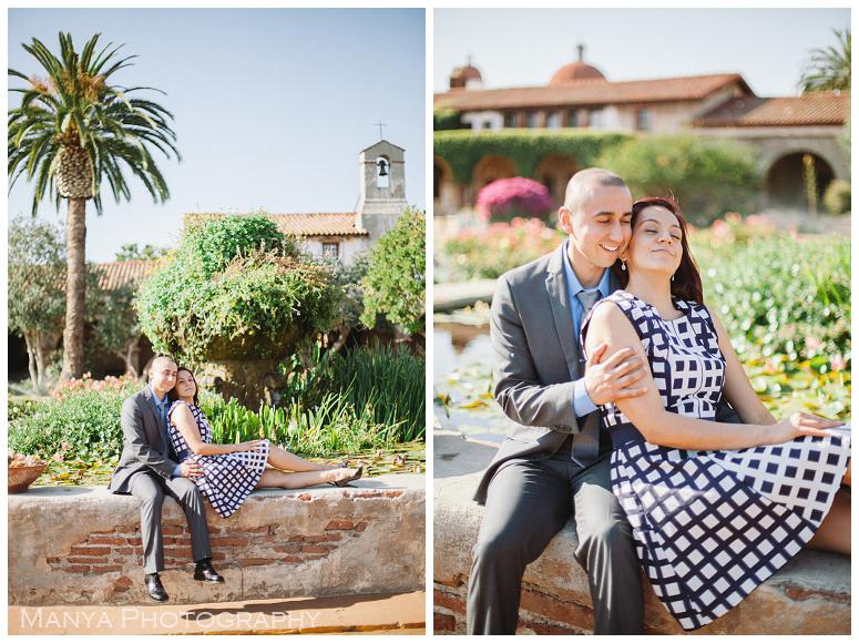 2014-06-13_0029- Sergio and Patti   Engagement   Mission San Juan Capistrano Wedding Photographer   Manya Photography