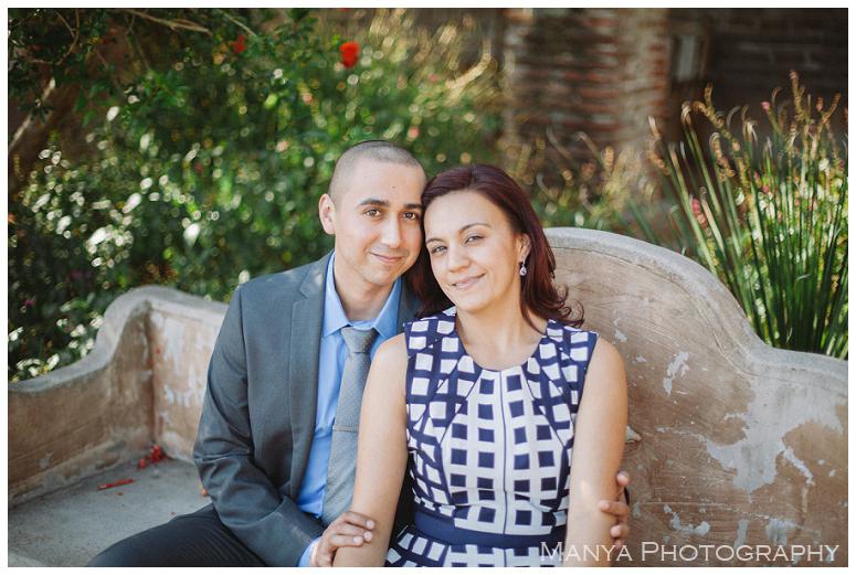2014-06-13_0032- Sergio and Patti   Engagement   Mission San Juan Capistrano Wedding Photographer   Manya Photography