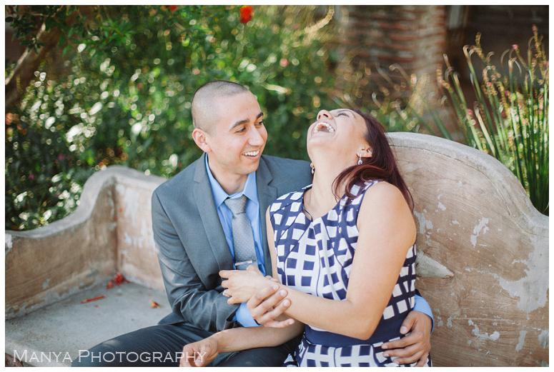 2014-06-13_0034- Sergio and Patti | Engagement | Mission San Juan Capistrano Wedding Photographer | Manya Photography