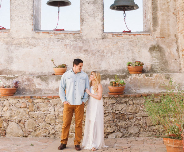 Nick and Kristen | Engagement | Mission San Juan Capistrano Wedding Photographer | Manya Photography