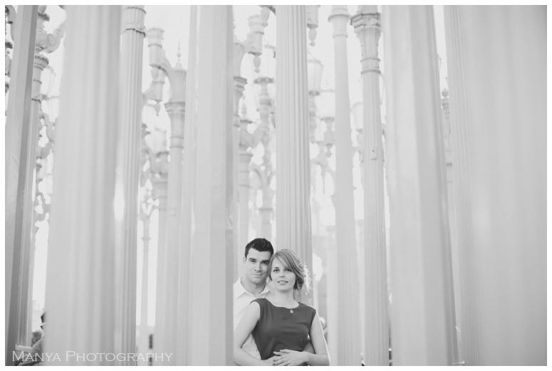 2015-02-04_0016- Mike & Olga | Engagement | LACMA Los Angeles | Southern California Wedding Photographer | Manya Photography