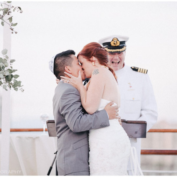 Queen Mary Wedding: Isaiah + Kate