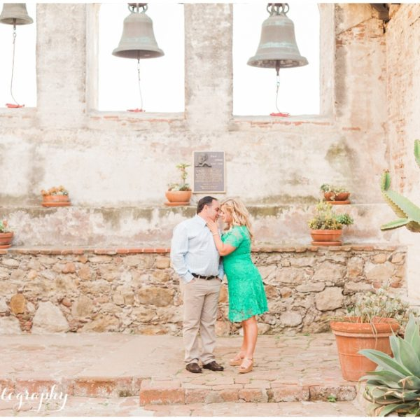 Engagement: John + Kathryn | San Juan Capistrano Mission Wedding Photographer