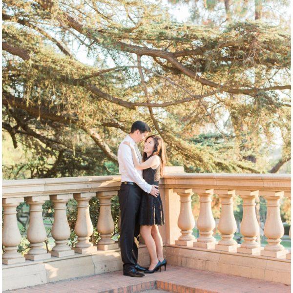Engagement: E + H | UCLA | Los Angeles Wedding Photographer