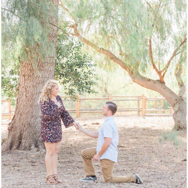 Engagement: Michael + Anastasia | Carbon Canyon Regional Park | Brea | Orange County Wedding Photographer