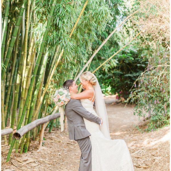 Wedding: Dave + Stephanie   San Diego Botanic Garden Encinitas   San Diego County Wedding Photographer